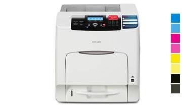 Locação de impressoras laser aficio sp c431dn ricoh