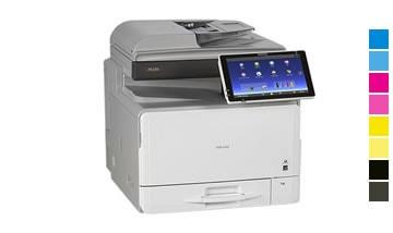 Locação de impressora Ricoh mp c306