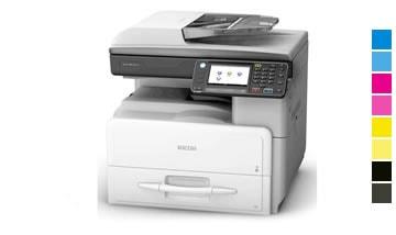 Locação de impressora Ricoh mp c401
