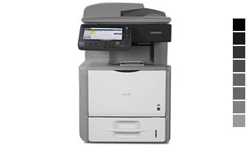 Aluguel de impressora Ricoh aficio sp 5200s