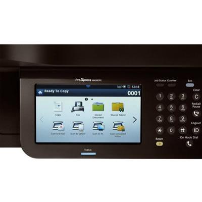 Impressora Multifuncional Samsung SL-M4080FX painel